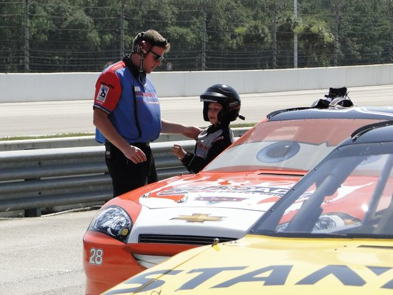Richard Petty Driving Experience: drive along