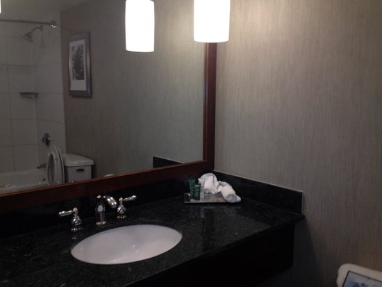 Hilton Boston / Woburn: Bathroom