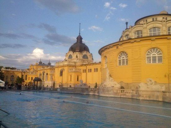 Széchenyi Baths and Pool : Piscinas externas