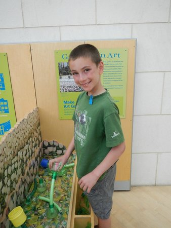 Telfair Museums Jepson Center: Creating with recycling material