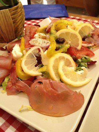 Albergo Marina : Speciality salad