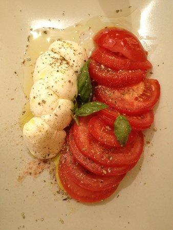 Albergo Marina : Tomato-mozzarella