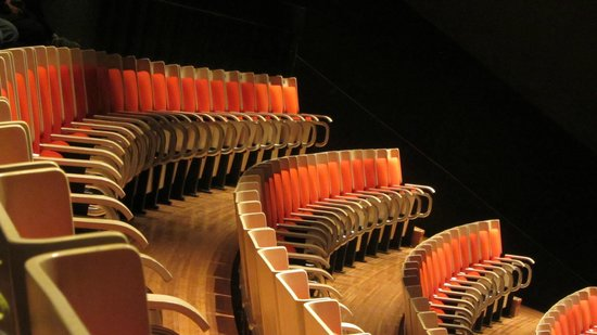 Sydney Opera House : Seats inside one of the theaters