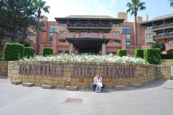 Islantilla Golf Resort Hotel: Vista exterior Hotel