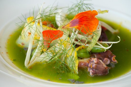 George's at the Cove: Local Octopus