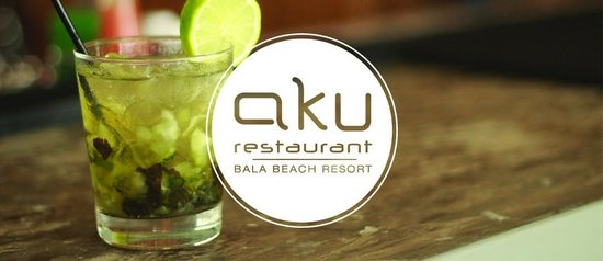 Aku: Our cocktails are freshly made and mixed.