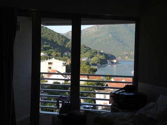 Hotel Delfin: vue mer de la chambre 412 au 4ème étage