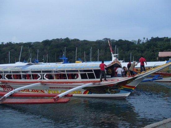 Orient Pearl Resort : バンカーボート約定員80人