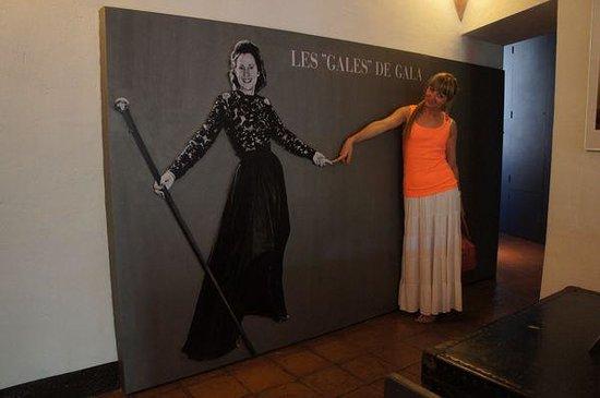 Castillo Casa Museo Gala Dalí Castell de Púbol: жена Дали Гала