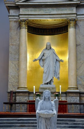 Church of Our Lady - Copenhagen Cathedral: Statue