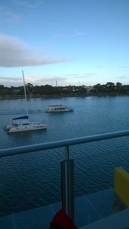 The Sebel Mandurah: View from our balcony