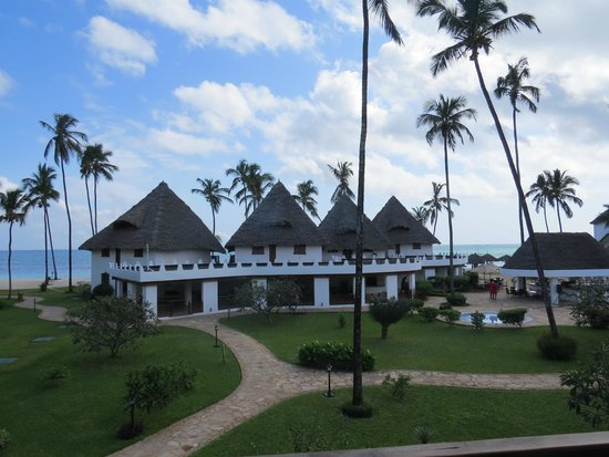 DoubleTree by Hilton Resort Zanzibar - Nungwi: View from our second floor balcony, room 203.