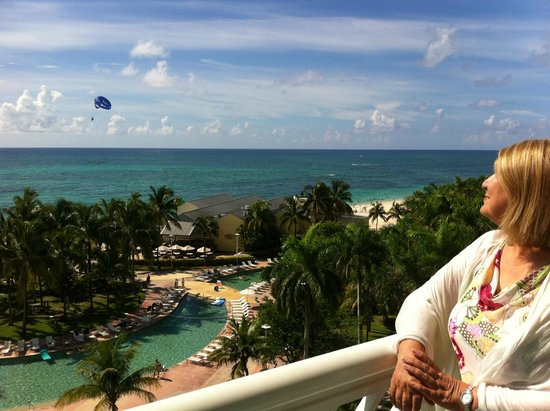 Grand Lucayan, Bahamas: view from balcony