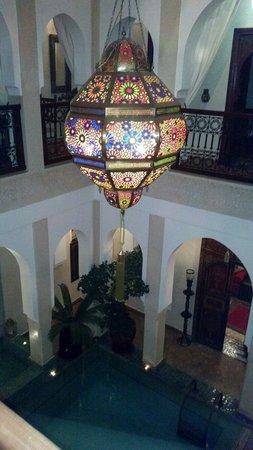 Riad Hikaya: Pool view from 1st floor