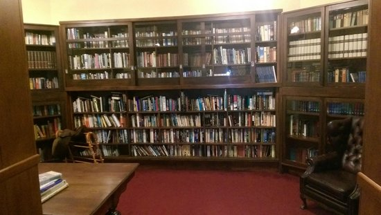 The County Hotel Napier: Library