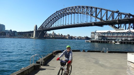 Bike Buffs - Sydney Bicycle Tours: Biking at THE bridge