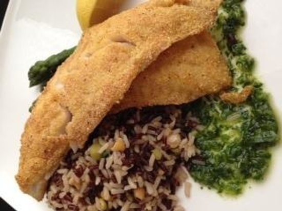 Medora Muskoka Cuisine: Early Evening Feature Cornmeal Crusted Red Snapped