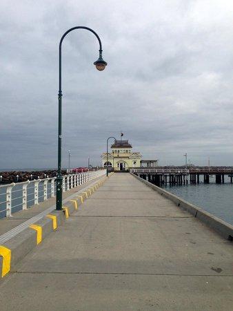 St. Kilda Beach : St. Kilda Pier