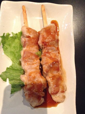 Sushi Village Japanese Cuisine: chicken yakitori