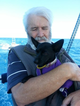 Big Mama Sailing : Puppy love on board BMS