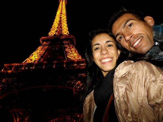 Tour Eiffel : Mary e Eu