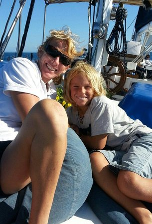 Big Mama Sailing : Hosts Lovely Lisa & Son Fletcher
