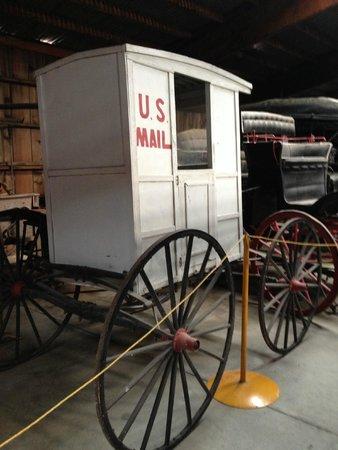 Bonanzaville USA: Mail truck