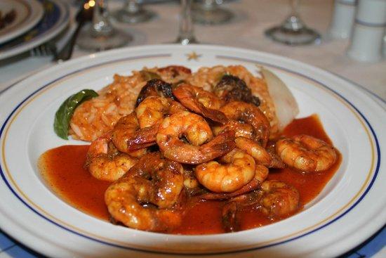 Iberostar Rose Hall Beach Hotel: seafood jambalaya