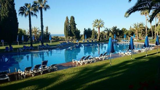 Vilanova Park: dos piscinas preciosas