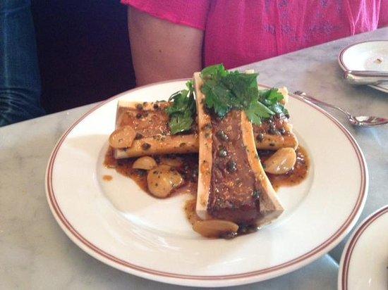 Bouchon Bakery: Moelle Rotie (Roasted Bone Marrow)