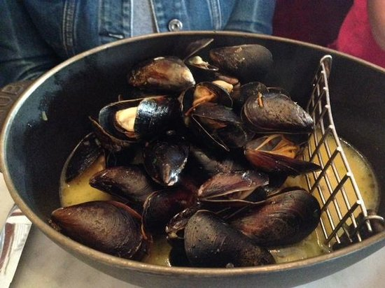 Bouchon Bakery: Mussels