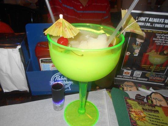 Dick's Last Resort - Myrtle Beach : Giant margarita.