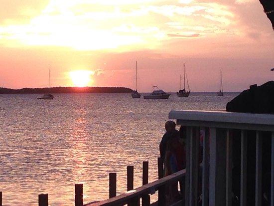 Lorelei Restaurant & Cabana Bar: Nice Sunset!