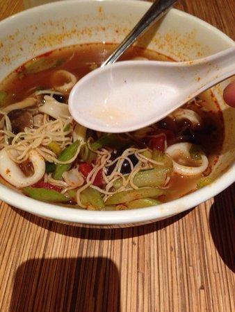 Noodle Shop: Tom yum soup