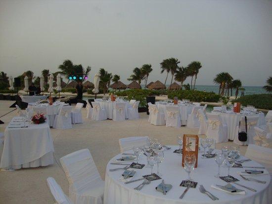 Secrets Maroma Beach Riviera Cancun: Wedding Reception in paradise