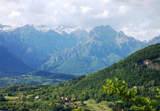 Villa Rosa : Breathtaking view!