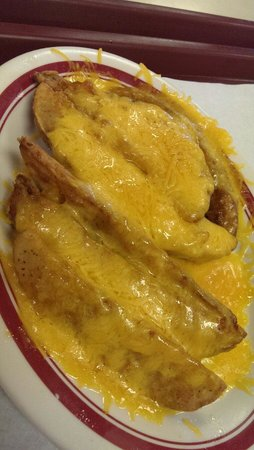 Dash-Inn : Potato Wedges w Cheddar Cheese