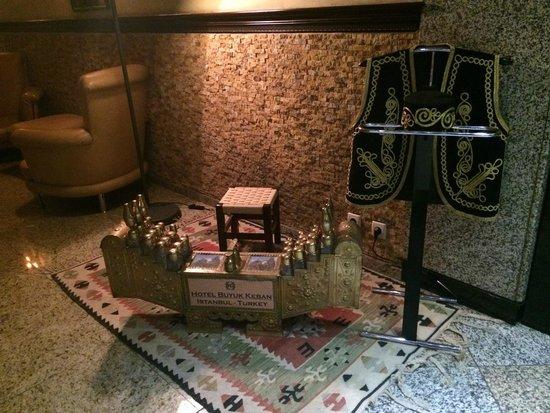 Hotel Buyuk Keban : Entrada al  Restaurante