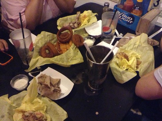 Hodad's : The aftermath of our feast