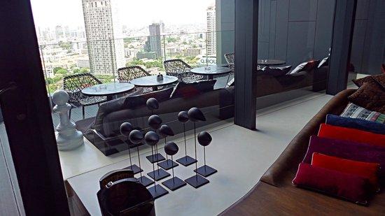 SO Sofitel Bangkok: club lounge
