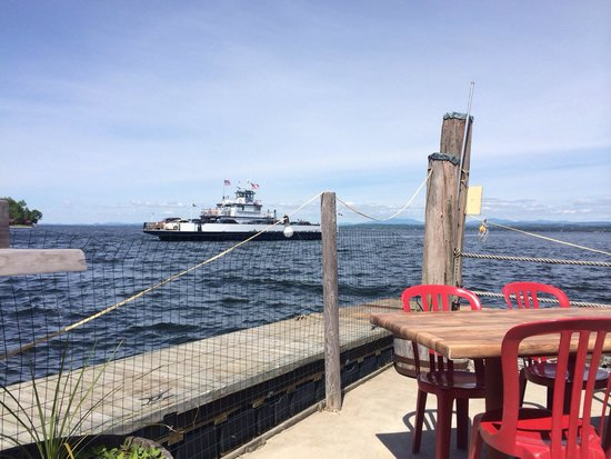 Old Dock House & Marina: View while having lunch