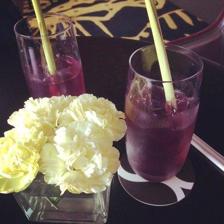 SO Sofitel Bangkok: welcome drink