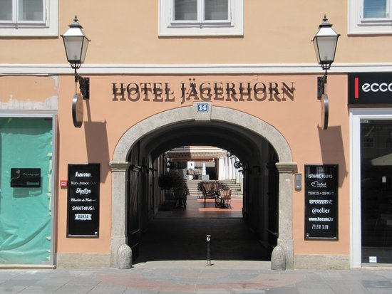 Hotel Jagerhorn : Entrance