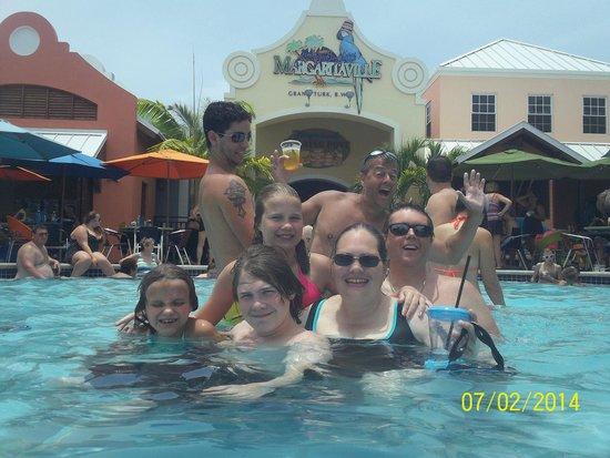 Jimmy Buffett's Margaritaville: My family in the amazing pool