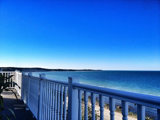 Sand Dollar B&B: View from the balcony off of the Sandbar roo