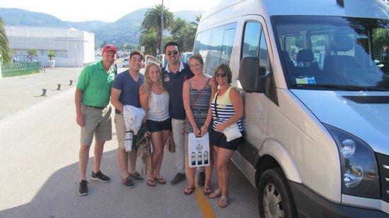 Joe Banana Limos : Our family with Mike, Florence/Tuscany