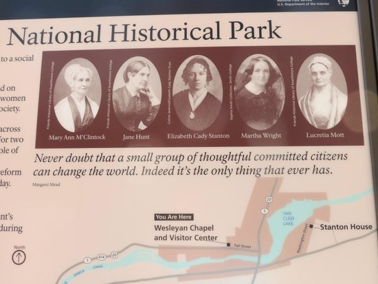 Women's Rights National Historical Park : Never doubt that a small group of citizens can change the world.