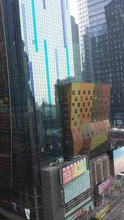 InterContinental New York Times Square : View from one window