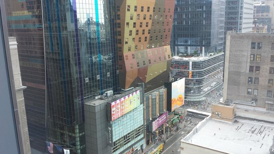 InterContinental New York Times Square: View from window