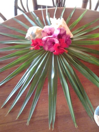 Villa Dolce Vita - Soliman Bay: Flowers/decor of the day